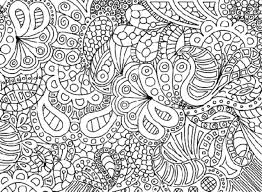 Complex Coloring Pages Archives Best Page Line Drawings