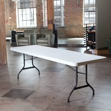 2997 - Lifetime 8-Foot Commercial Folding Table - Features A 96