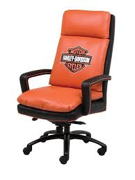 This Harley DavidsonR Executive High Back Swivel Tilt Chair Will Look Great In Your Office Find Similar Items At San Diego Online