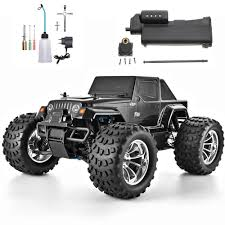 100 Hobby Lobby Rc Trucks HSP RC Car 110 Scale Nitro Power 4wd Off Road Monster Truck 94188