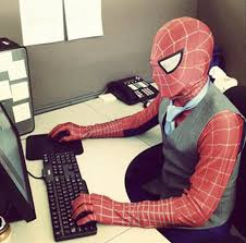 Spiderman Behind Desk Meme by Spider Man U0027s Profile