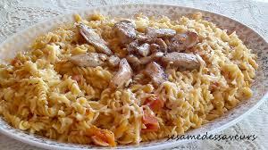 pates au blanc de poulet pâtes faciles au poulet le sésame des saveurs