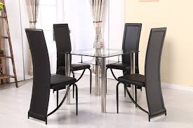 Dining Table And 4 Chairs – Modernique Oak Round Ding Table In Brown Or Black Garden Trading Extending Vintage And Coloured With Tables Glass Square Wood More Amart Fniture Serene Croydon Set 4 Marlow Faux Leather Eaging Solid Walnut And Chairs White Outdoor Winston Porter Fenley Reviews Wayfair Impressive 25 Levualistecom Amish Merchant Oslo Ivory Leather Modern Direct Rhonda In Blacknight Oiled Woood Cuckooland Chair Seats Round Extending Ding Table 6 Chairs Extendable