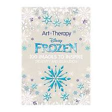 Disney Frozen Adult Coloring Book 100 Images To Inspire