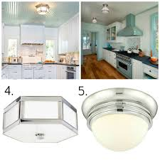 flush mount kitchen ceiling light fixtures pressed glass