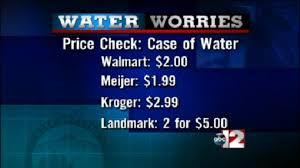 ABC12 Searches For Cheapest Price Water In Flint