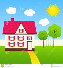 Cute House Stock Vector Illustration Of Rural Cottage