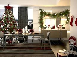 Christmas Dining Room Model Max 1 Table Decorations
