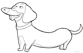 Beagle Realistic Coloring Page Printable Download Free