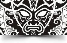 Tribal Mask Tattoo Sleeve