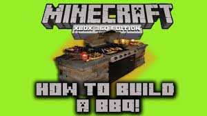 Minecraft Xbox 360 Living Room Designs by Minecraft Xbox 360 Build Tutorial 1 Bbq Grill How To Gaming