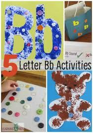 ALPHABET ACTIVITIES LETTER B ACTIVITIES