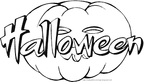 Happy Halloween Coloring Pages 2017