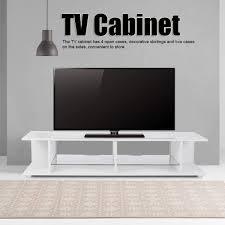 fernsehtisch für fernseher weißer tv schrank hochglänzender