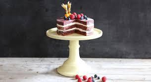 velvet cake mit frosting backen macht glücklich