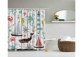 Life Nautical Shower Curtain