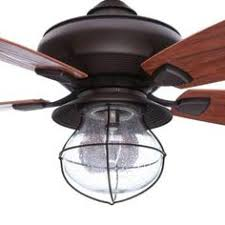 Outdoor Ceiling Fans Home Depot by Home Decorators Collection Bromley 52 In Led Indoor Outdoor