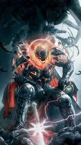 Marvel Villain iPhone 5 Wallpaper 640x1136