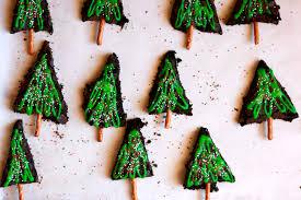 Christmas Tree Meringues by Christmas Tree Brownies Gluten Free