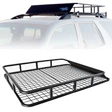 Universal Roof Rack Cargo Car Top Luggage Carrier Basket Traveling ... Vantech H2 Ford Econoline Alinum Roof Rack System Discount Ramps Fj Cruiser Baja 072014 Smittybilt Defender For 8401 Jeep Cherokee Xj With Rain Warrior Products Bodyarmor4x4com Off Road Vehicle Accsories Bumpers Truck White Birthday Cake Ideas Q Smart Vehicle Sportrack Cargo Basket Yakima Towers Racks Enchanting Design My 4x4 Need A Roof Rack So I Built One Album On Imgur Capvating Rier Go Car For Kayaks Ram 1500 Quad Cab Thule Aeroblade Crossbars