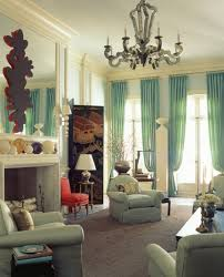 modern living room curtains design