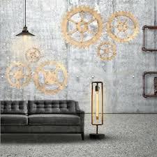 steunk zahnrad wandschmuck wandbehang für wohnzimmer