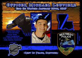In Memoriam ficer Michael Louviere