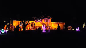 Ge Itwinkle Light Christmas Tree by Animated Halloween Lights Display To Uptown Funk Youtube