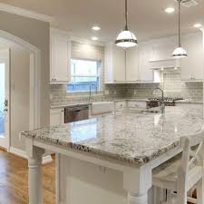 Great White Kitchen Cabinets With Granite Countertops 30 For Home
