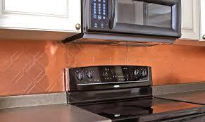 Copper Tiles For Backsplash by Copper Tiles For Kitchen Backsplash Home Design Ideas