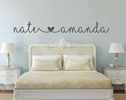 Bedroom wall decal