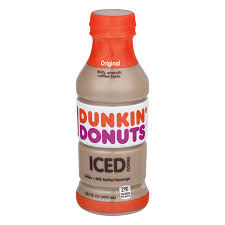 Dunkin Donuts Original Iced Coffee 137 Fl Oz Bottle