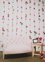 Fresh Flowers Always Look Fantastic But In Spring And Summer They Especially Create A Mood To Make This Flower Wall Youll Need Hot Pink Ranunculus