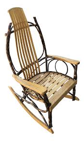 Late 20th Century Rustic Adirondack Oak And Hickory Twig Rocking Chair My Favorite Finds Rocking Chairs Down Time Exciting Rattan Wicker Chair Cushions Agreeable Fniture Rural Grey Wooden Single Rocking Chair Departments Diy At Bq Outdoor A L Hickory 7 Slat Rocker In 2019 Handsome Green Tweed Cushion Latex Foam Rustic American Sedona Lowes For Inspiring Antique Classic Check Taupe Plaid Standish Darek La Lune Collection Belham Living Raeburn Rope And Wood Walmartcom