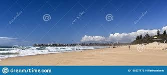 100 Currimundi Beach Sunshine Coast Surf Editorial Photography