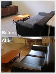 Ikea Kivik Sofa Bed Slipcover by Kramfors Leather Vs Kramfors Fabric Slipcover Cw