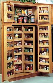 Farmhouse Kitchen with Great Pantry Storage Cabinet Wood Swivel
