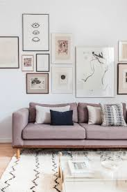a wall in soft colours relaxing interior