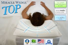 Bed Wedge Acid Reflux by What Pillow Should I Put On A Wedge Faq