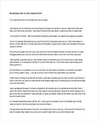 13 Letter Apology Templates Free Sample Example Format