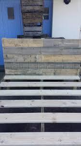 Pallet Bed Frame by Diy Reclaimed Pallet Bed Frame Pallet Furniture Diy