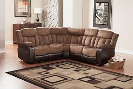 Microfiber Sofas And Sectionals by Homelegance Vera Reclining Sectional Sofa Chocolate Textured