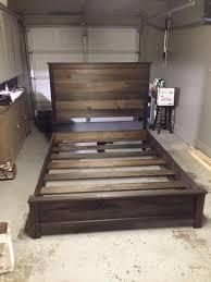 diy wooden bed frame best 25 diy bed ideas on pinterest diy bed