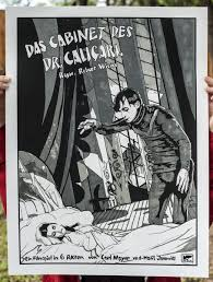 The Cabinet Of Doctor Caligari 1920 by New Flesh Presents The Cabinet Of Dr Caligari Nerdlocker Com
