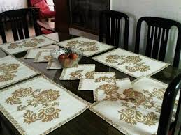 Home Living Kitchen DiningTable LinenEcoFriendly Handmade MatKitchen Decor