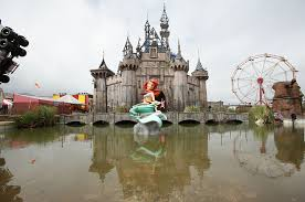 Halloween Theme Park Uk by Look Inside Banksy U0027s Creepy Disney Inspired Amusement Park