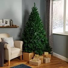 Slimline Christmas Tree Asda by Christmas Trees Artificial Christmas Trees Diy At B U0026q