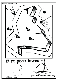 Alphabet Coloring Pages In Spanish Letters For Adults Free Printable Page Book Graffiti Diplomacy Full