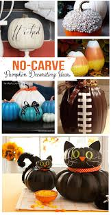 Minion Pumpkin Carving Tutorial by No Carve Pumpkin Decorating Ideas Pumpkin Decorating Carving