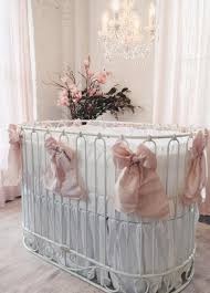 Bratt Decor Crib Skirt by Jadore Crib Cradle Distressed White
